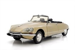 Citroën DS Chapron Cabrio model