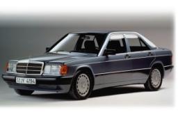 Auto-tapices Classic antracita para mercedes benz 190 w201 1982-1993