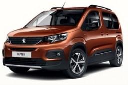 Custom Rubber Car Mats to fit Peugeot Rifter 2018-present