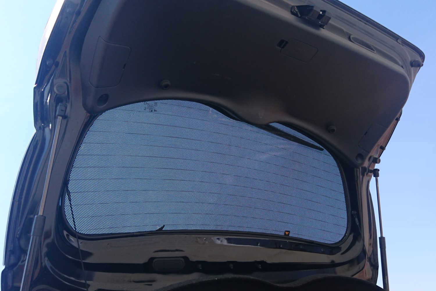 Sun shades Alfa Romeo 156 2000-2007 4-door saloon Trokot - rear window