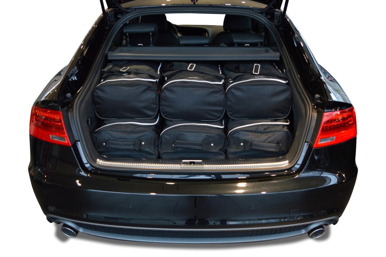 a5 sportback 8ta 2009 2016 audi a5 sportback 8ta 2009 2016 5p car bags set de sacs de voyage. Black Bedroom Furniture Sets. Home Design Ideas