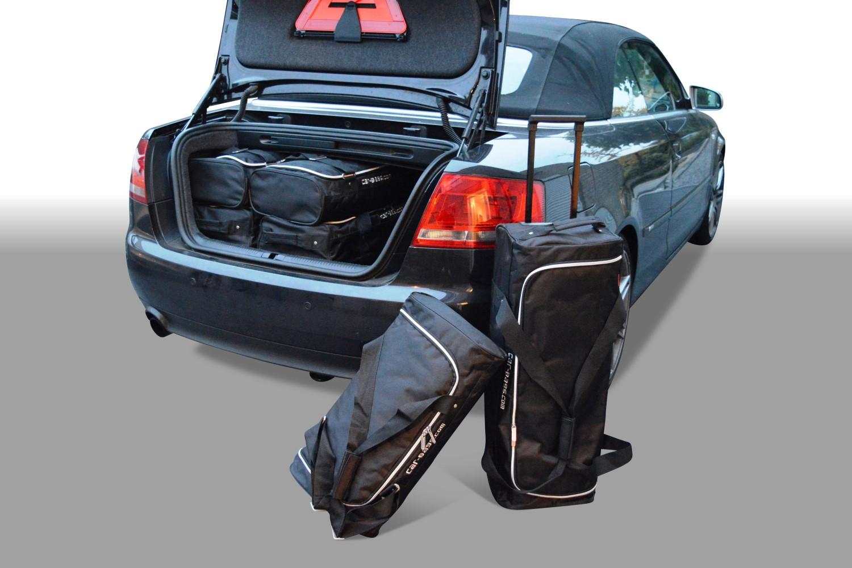 audi a4 cabriolet b6 b7 travel bag set car parts expert. Black Bedroom Furniture Sets. Home Design Ideas
