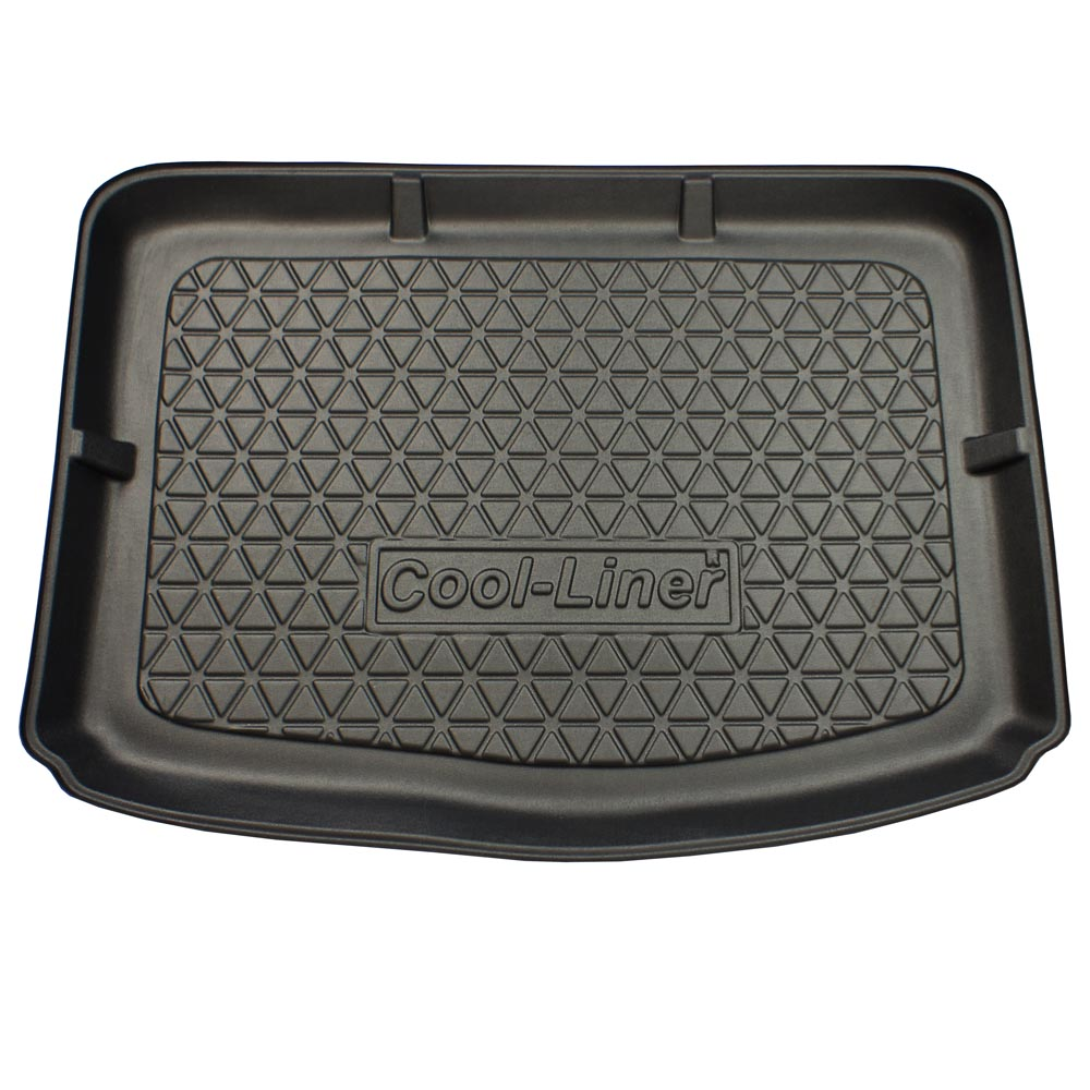Boot mat Alfa Romeo Mito 2008-present 3-door hatchback Cool Liner anti slip PE/TPE rubber