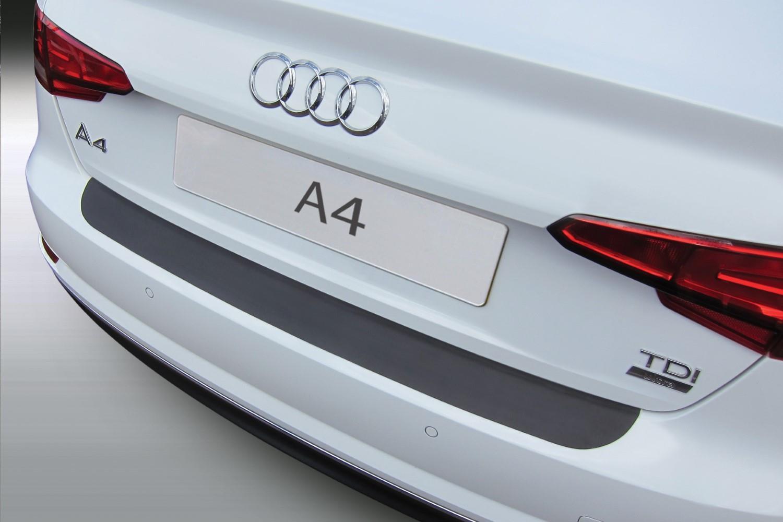 Pour Audi a4 b9 Avant Seuil Lackschutz film noir brillant 10144