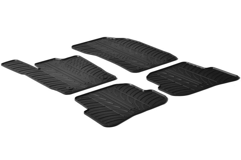 Audi A1 8x Rubber Car Mats Set Car Parts Expert