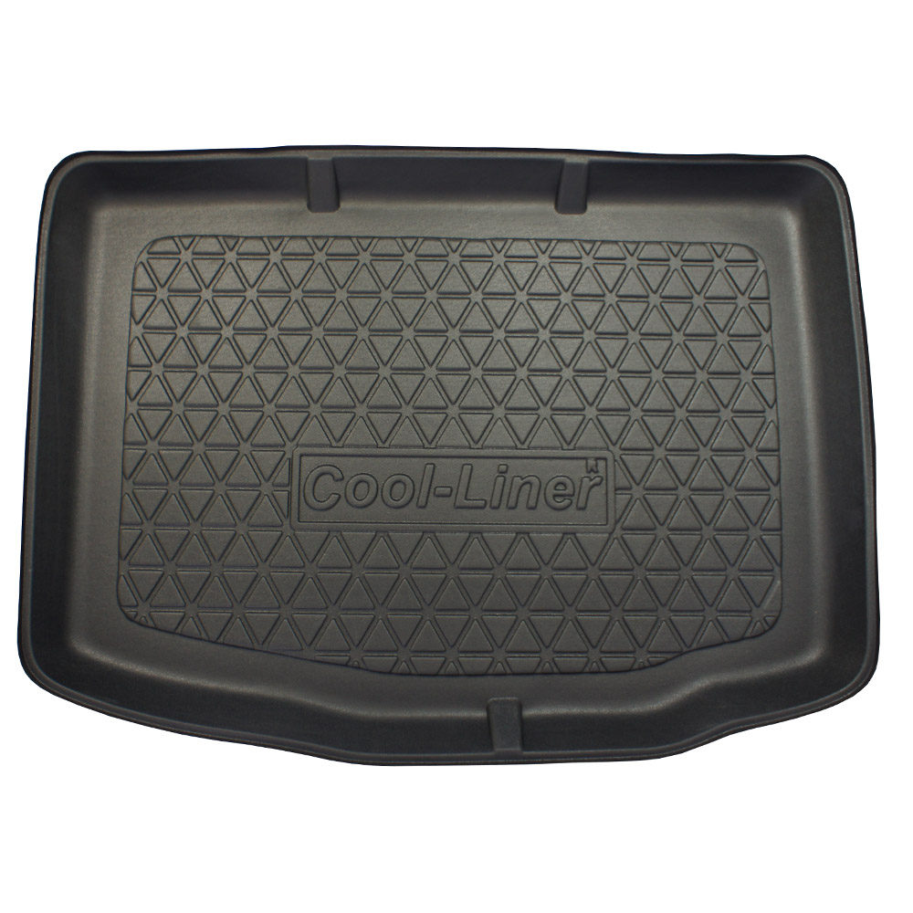 Boot mat Audi A1 (8X) 2010-2018 3 & 5-door hatchback Cool Liner anti slip PE/TPE rubber