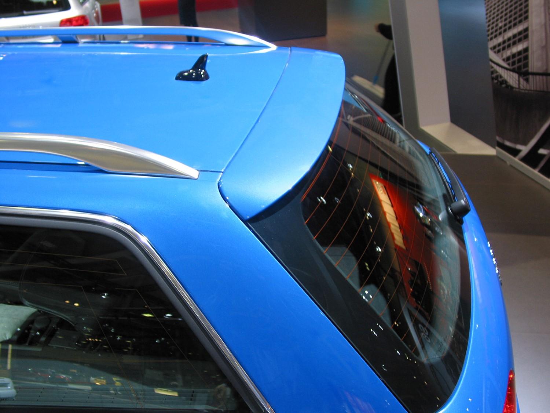 Audi A4 (B6) Avant 2001-2004 roof spoiler (AUD1A4SU)