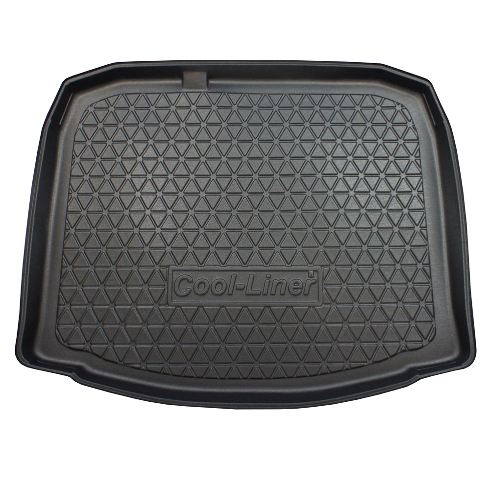 Boot mat Audi A3 (8P) 2008-2012 5-door hatchback Cool Liner anti slip PE/TPE rubber