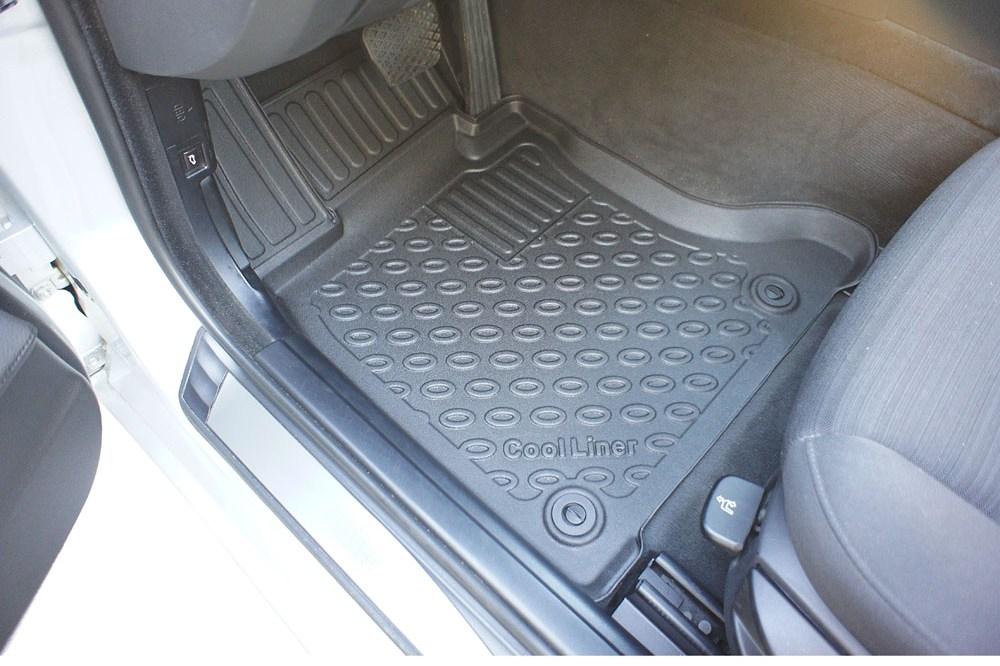 Bmw Rubber Matten.Bmw 5 Series E60 2003 2010 4 Deurs Sedan Cool Liner Automatten Set Pe Tpe Rubber