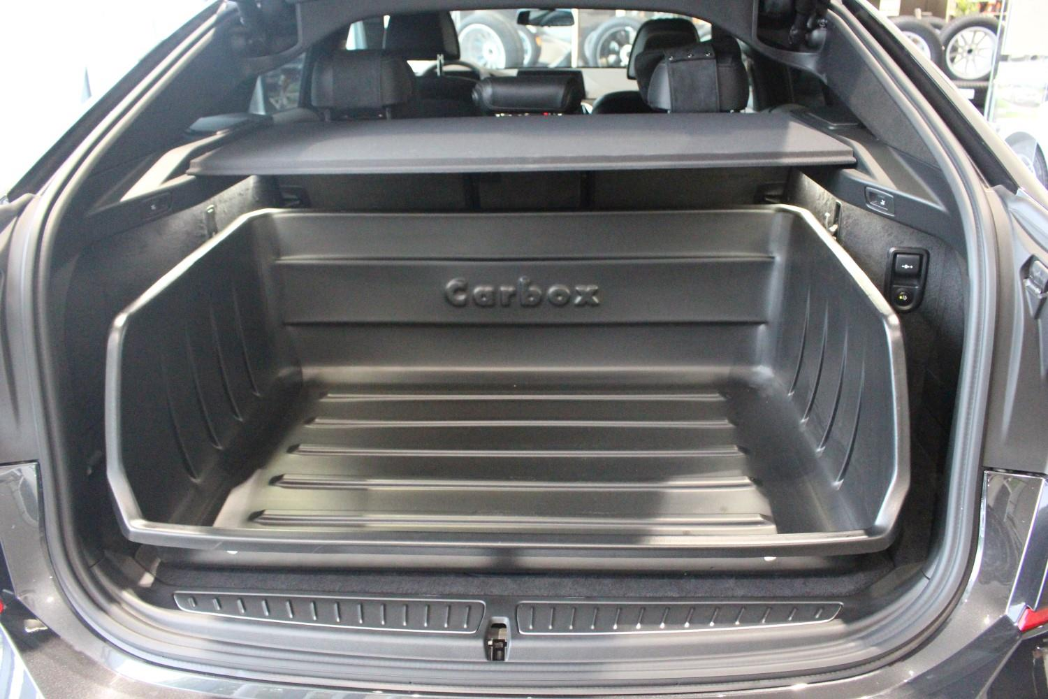 Boot liner BMW 6 Series GT (G32) 2017-present 5-door hatchback Carbox Classic YourSize 106 high sided