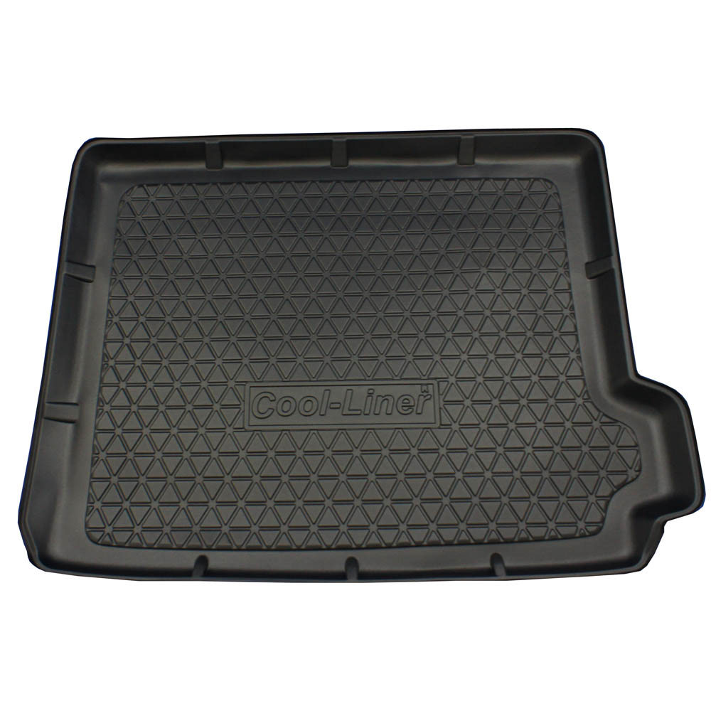 Boot mat BMW X4 (F26) 2014-present Cool Liner anti slip PE/TPE rubber