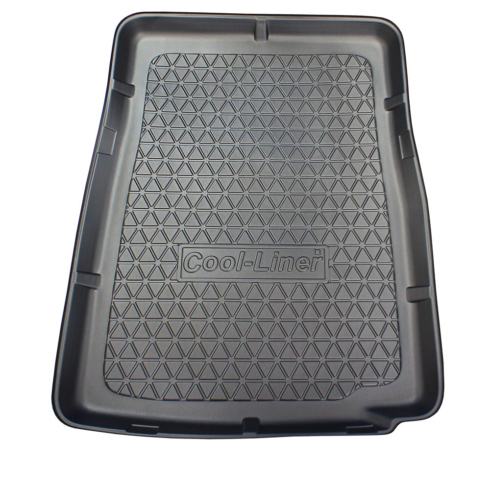 Boot mat BMW 7 Series (F01) 2008-2015 4-door saloon Cool Liner anti slip PE/TPE rubber