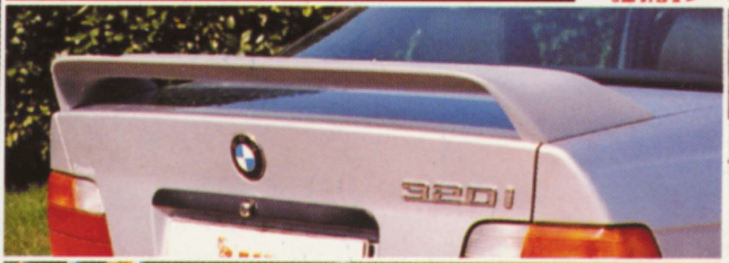 BMW 3 Series Coupé (E36) 1990-1998 trunk spoiler Midwing (BMW43SSU)