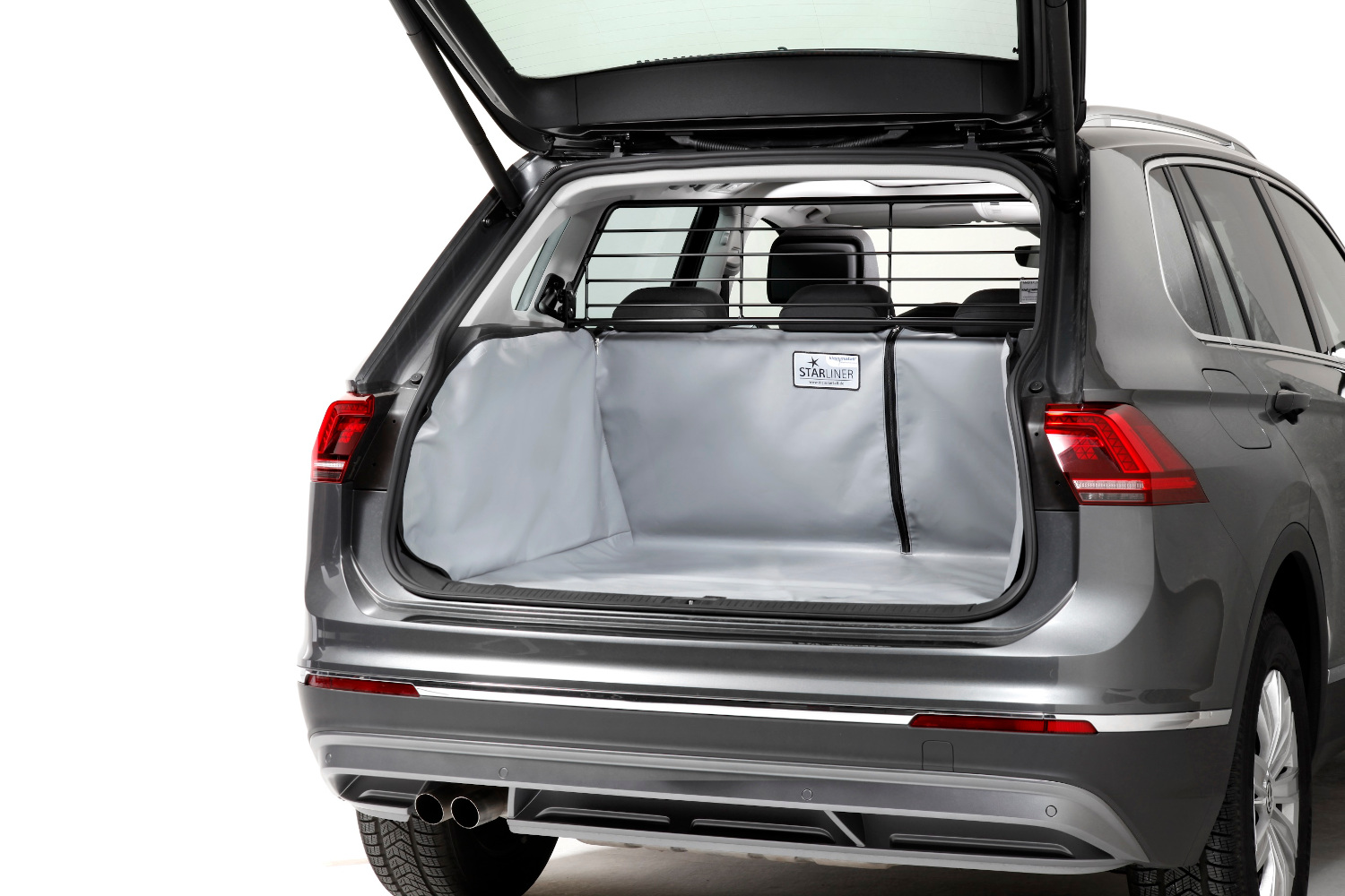 Boot cover Audi A3 Sportback (8V) 2012-present 5-door hatchback Kleinmetall Starliner - grey