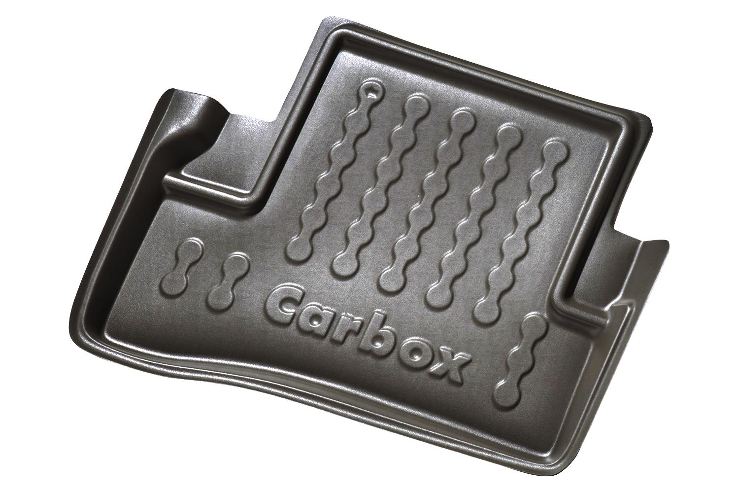 Example - Carbox car mat PE rubber - back-left - black