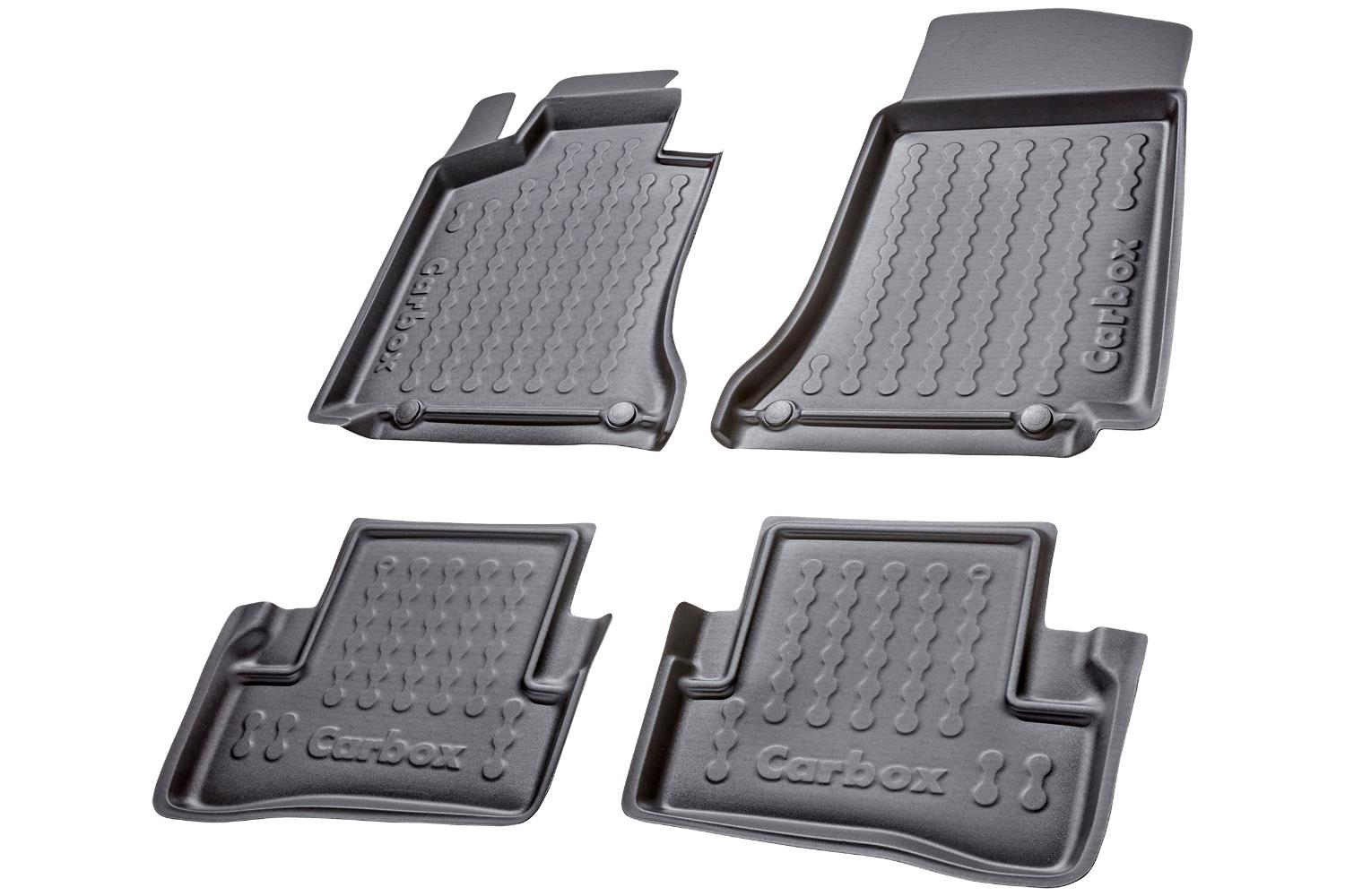 Example - Carbox car mat PE rubber - set - black
