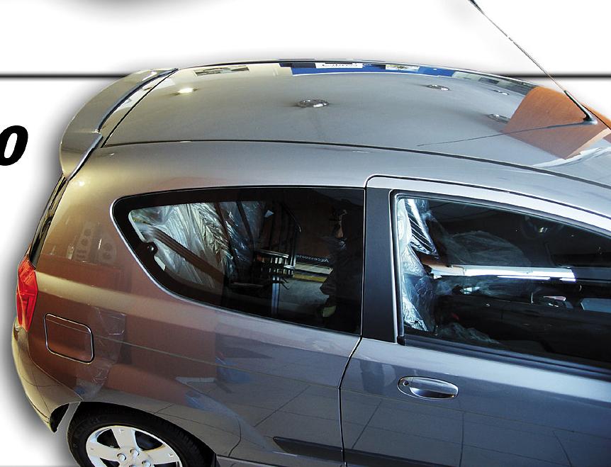 Chevrolet Aveo T250 Roof Spoiler Car Parts Expert