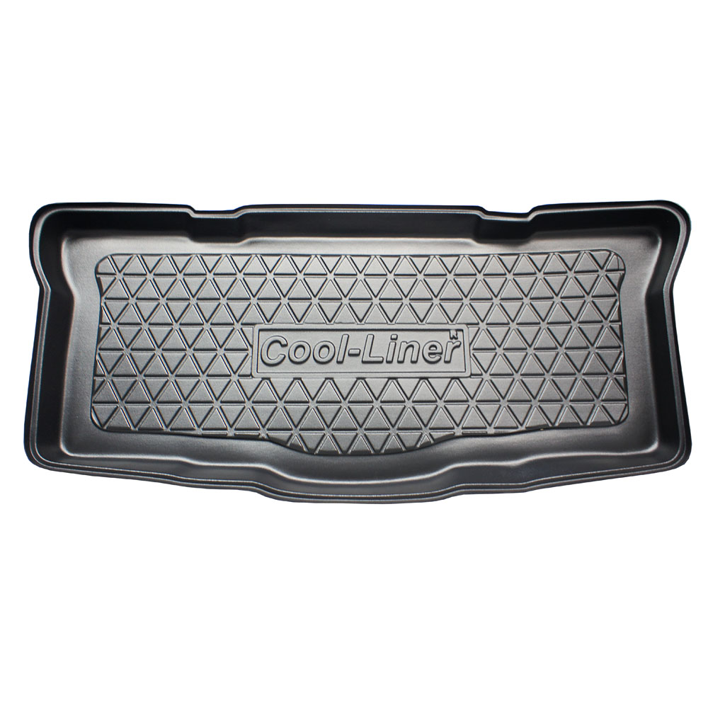 Boot mat Citroën C1 I 2005-2014 3 & 5-door hatchback Cool Liner anti slip PE/TPE rubber