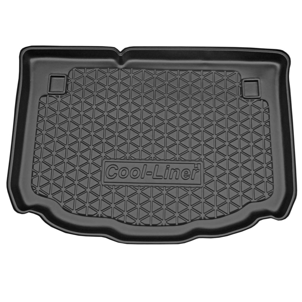 Boot mat Citroën C3 I 2002-2009 5-door hatchback Cool Liner anti slip PE/TPE rubber