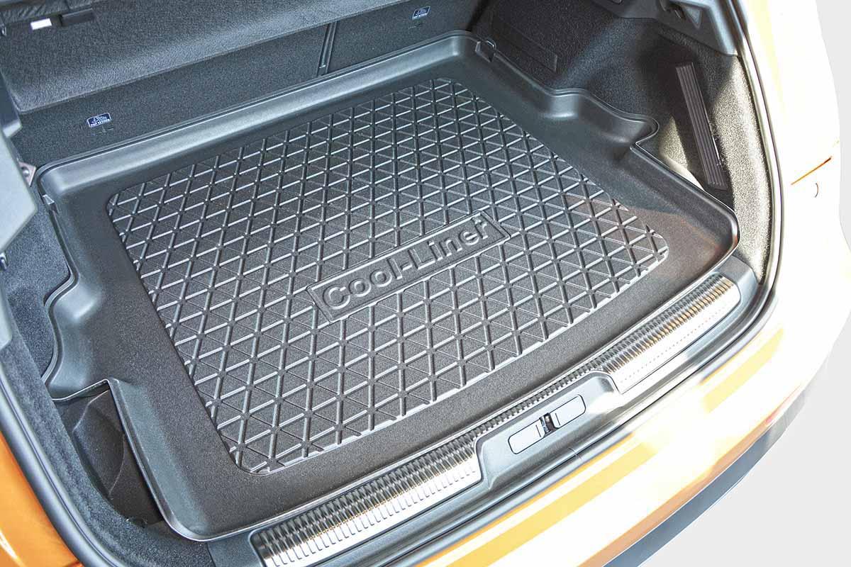 Gummi Kofferraummatte Gummi rutschfest Laderaumwanne Wanne Kofferraumwanne 2007- pedkit Kofferraummatte kompitable mit Citroen C5 Combi