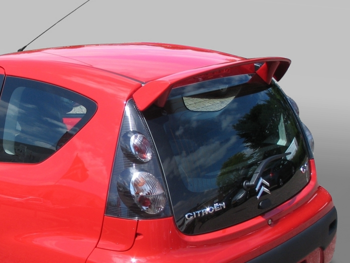 Roof spoiler Citroën C1 I 2005-2014 3 & 5-door hatchback