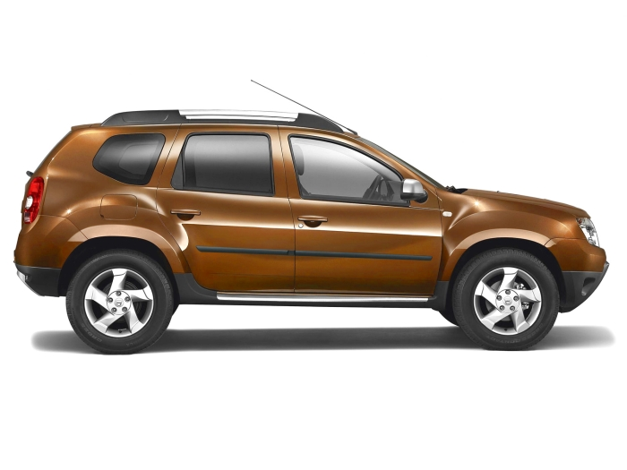 Door protectors Dacia Duster 2010-2017 set