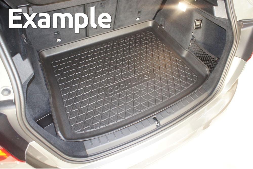 Antirutsch Kofferraumwanne für Seat Altea 2004-2015 Kofferraummatte