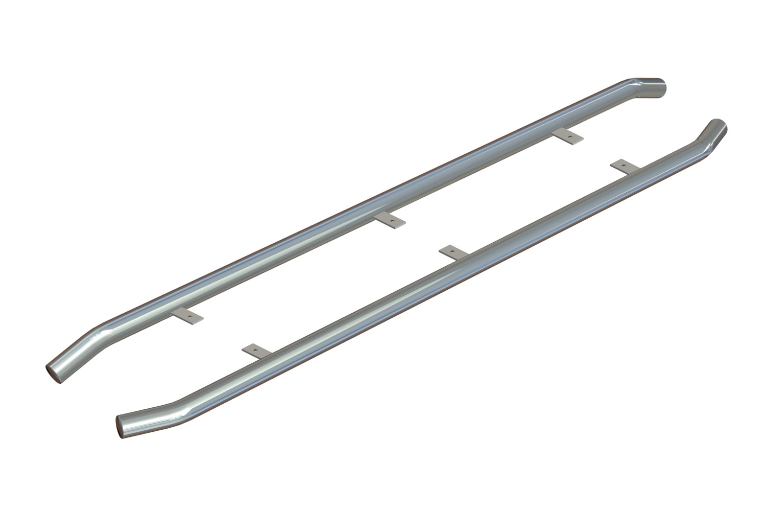 Fiat Ducato III 2006-present side bars stainless steel polished 64 mm (FIA6DUSI)