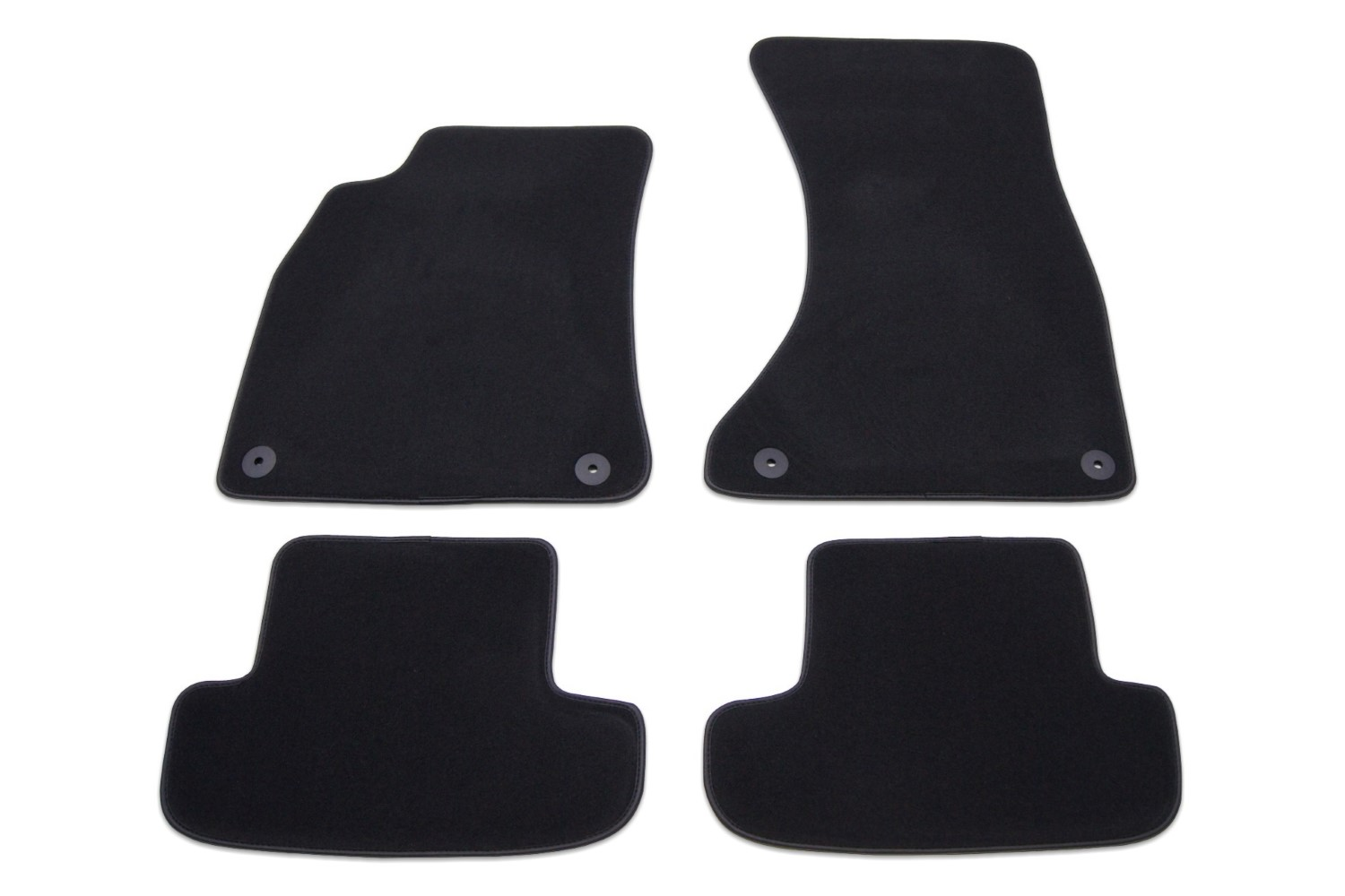 Car mats Toyota Avensis III 2008-2012 4-door & wagon - luxury velour