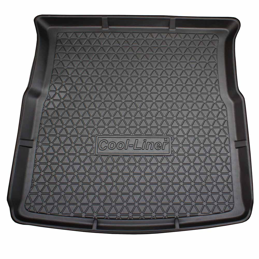 Boot mat Ford S-Max 2006-2015 Cool Liner anti slip PE/TPE rubber