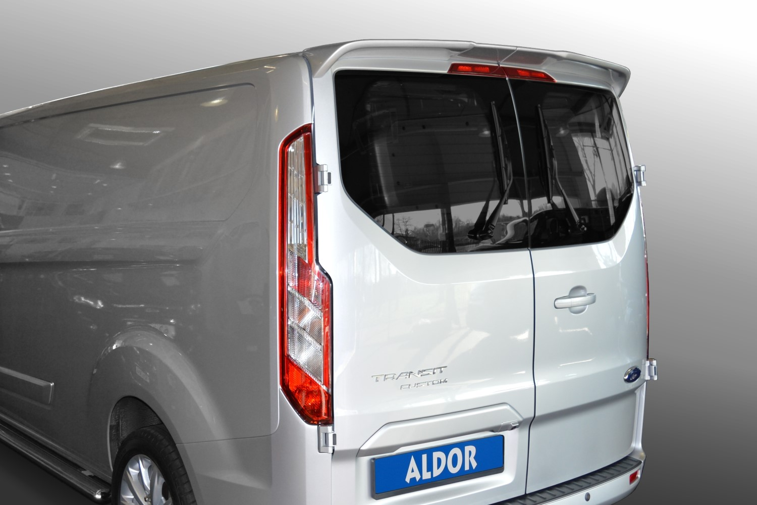 Ford transit tourneo custom 2012 2 drs roof spoiler for1trsu