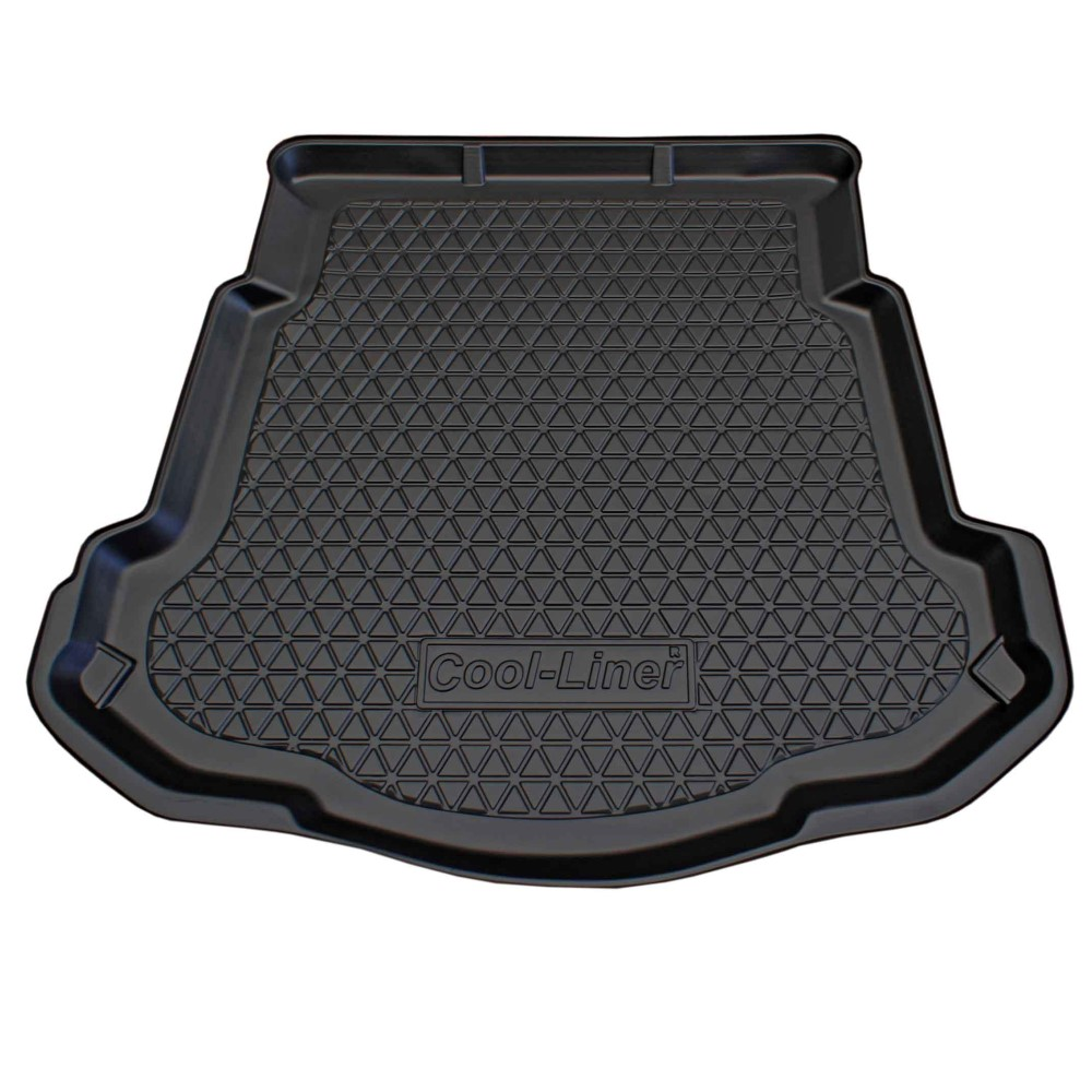 Boot mat Ford Mondeo IV 2007-2014 4-door saloon Cool Liner anti slip PE/TPE rubber