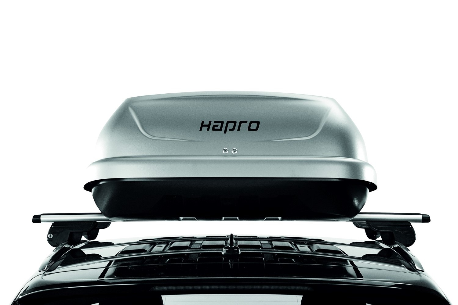 hapro dachboxen hapro traxer 6 6 silver grey dachbox. Black Bedroom Furniture Sets. Home Design Ideas
