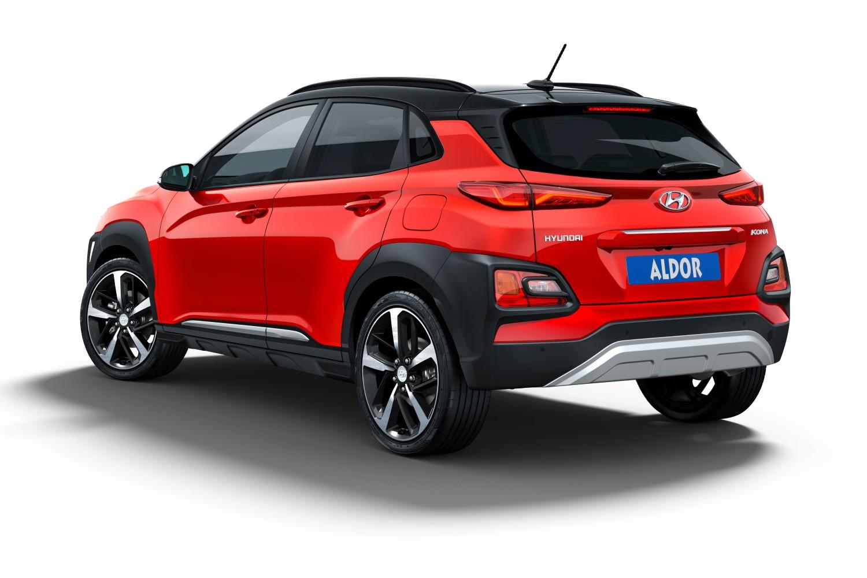 Hyundai Kona Os Skid Plate Set Car Parts Expert