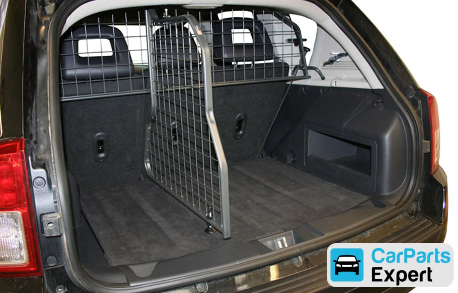 grilles pare chien et division jeep compass mk49 2006 2017 grille de division pour coffre. Black Bedroom Furniture Sets. Home Design Ideas