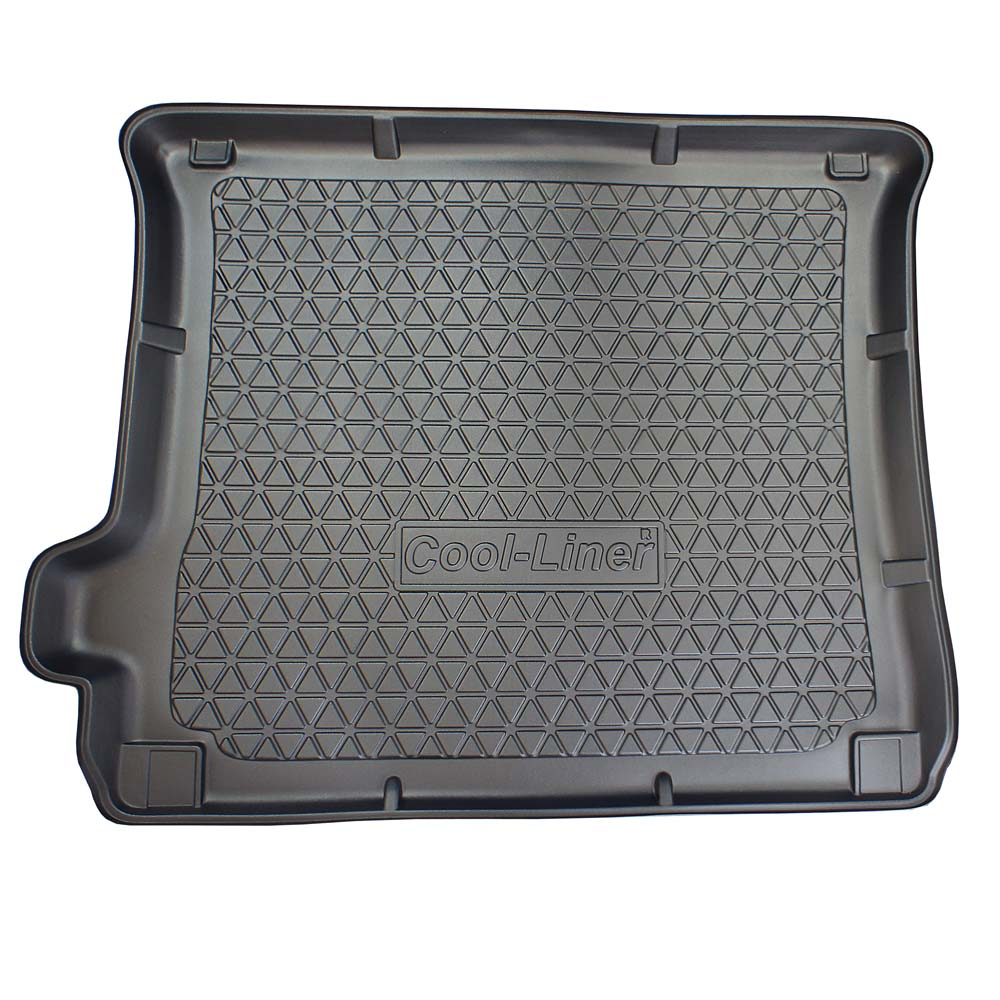 Boot mat Jeep Grand Cherokee IV (WK2) 2010-present Cool Liner anti slip PE/TPE rubber