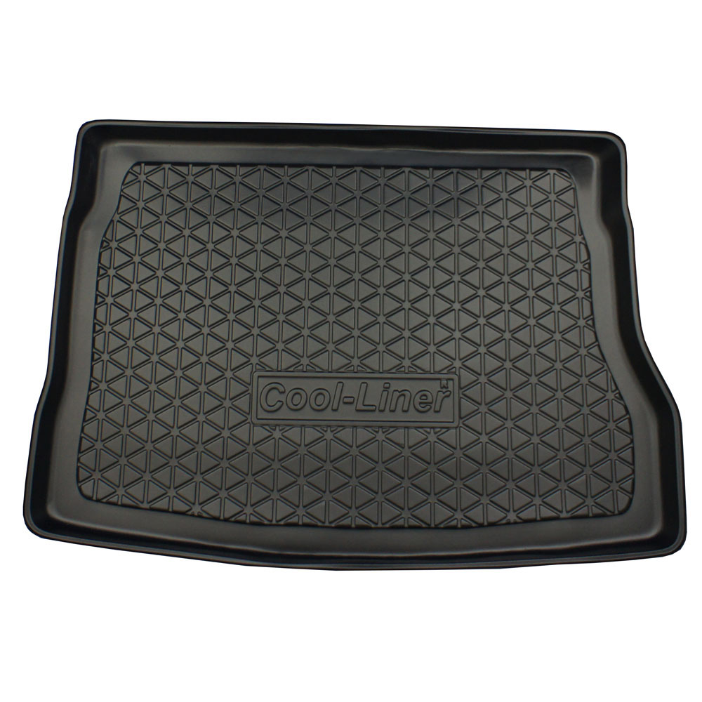 Boot mat Kia Pro_Cee'd (ED) 2008-2013 3-door hatchback Cool Liner anti slip PE/TPE rubber