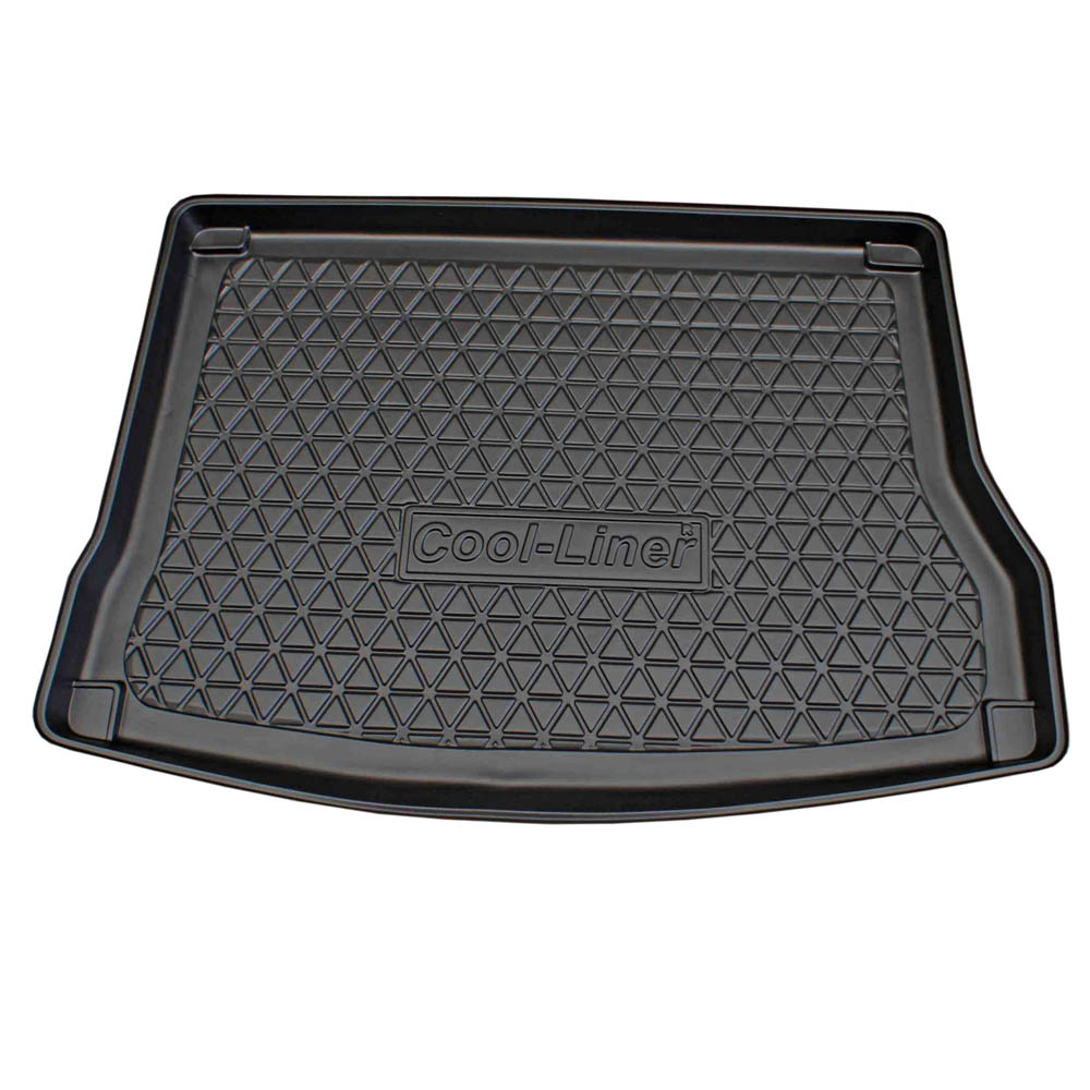Boot mat Kia Cee'd (ED) 2006-2012 5-door hatchback Cool Liner anti slip PE/TPE rubber