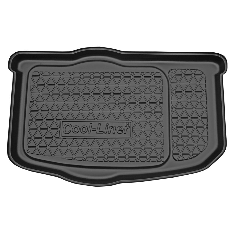 Boot mat Kia Soul I (AM) 2009-2014 Cool Liner anti slip PE/TPE rubber