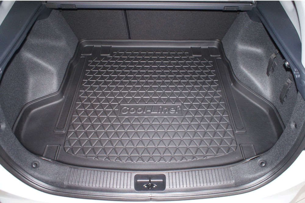 Boot mat Kia Cee'd (JD) 2012-2018 wagon Cool Liner anti slip PE/TPE rubber