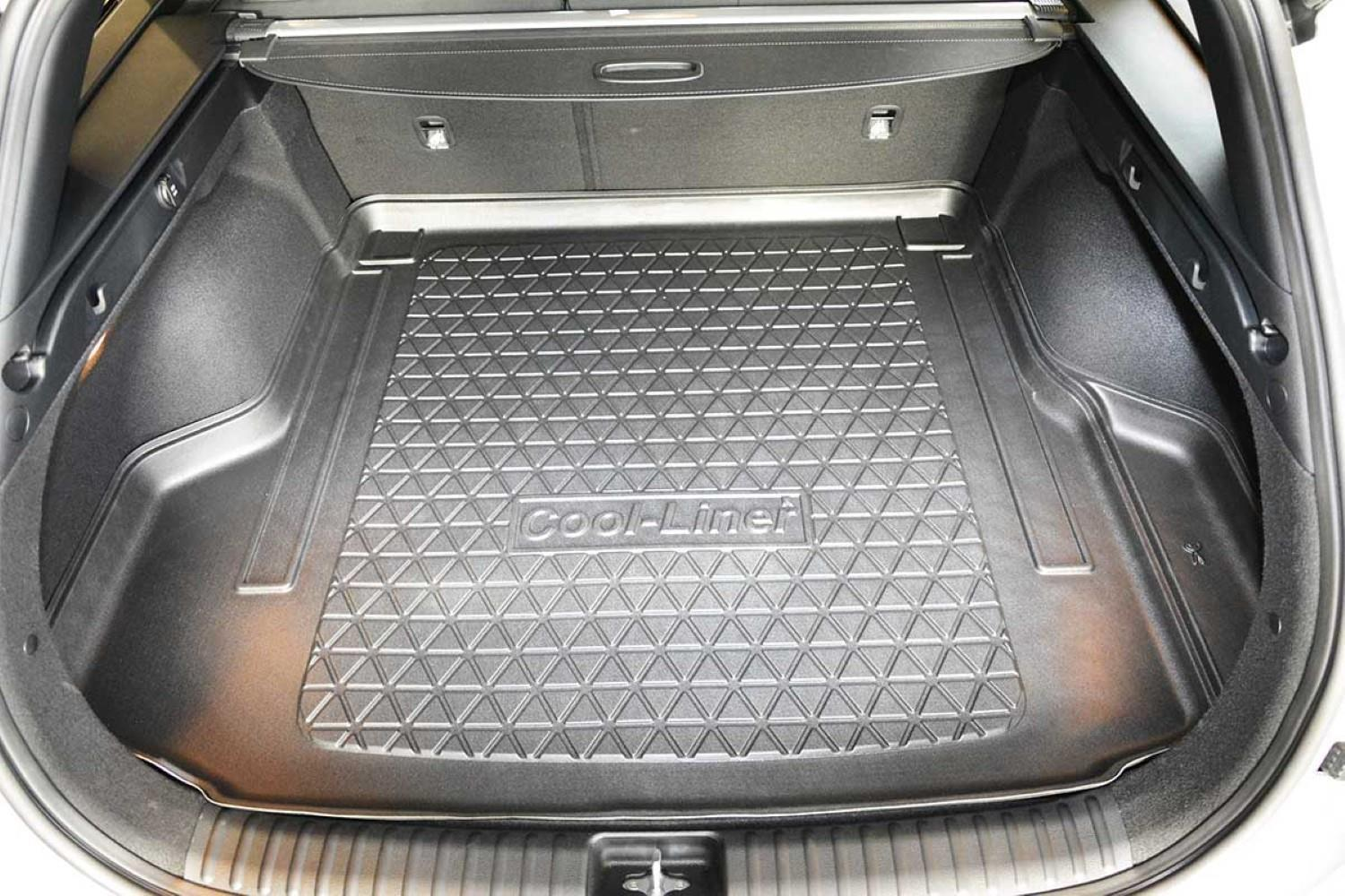 Estate Nomad Auto Tailored Fit Heavy Duty Durable Black Boot Liner Tray Mat Protector for Kia CeeD SW 12-18
