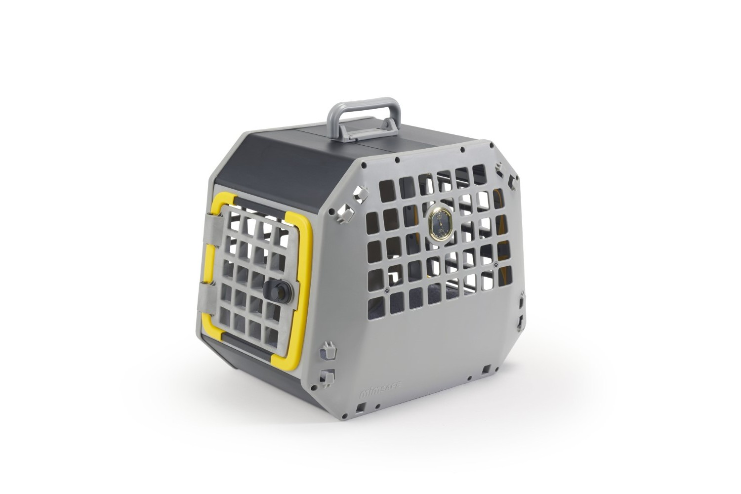Transport box for dog or cat Kleinmetall Care2 L grey