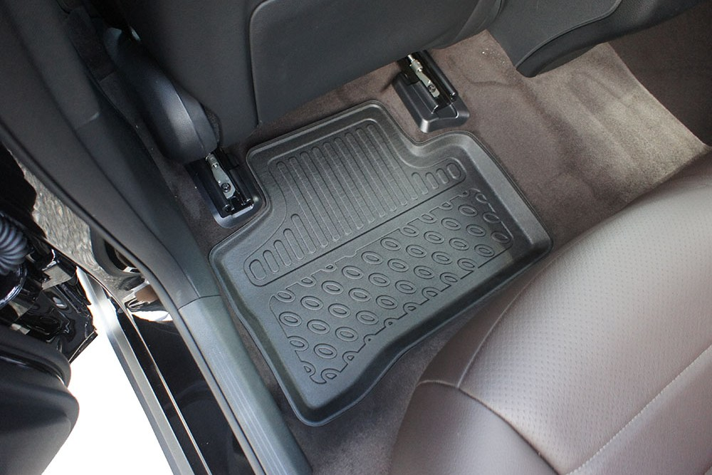 Mercedes-Benz GLC (X253) 2015- foot mat set PE/TPE rubber - Fußmatten Set PE/TPE Gummi - automatten set PE/TPE rubber - jeu tapis auto PE/TPE caoutchouc (MB1GCFM)