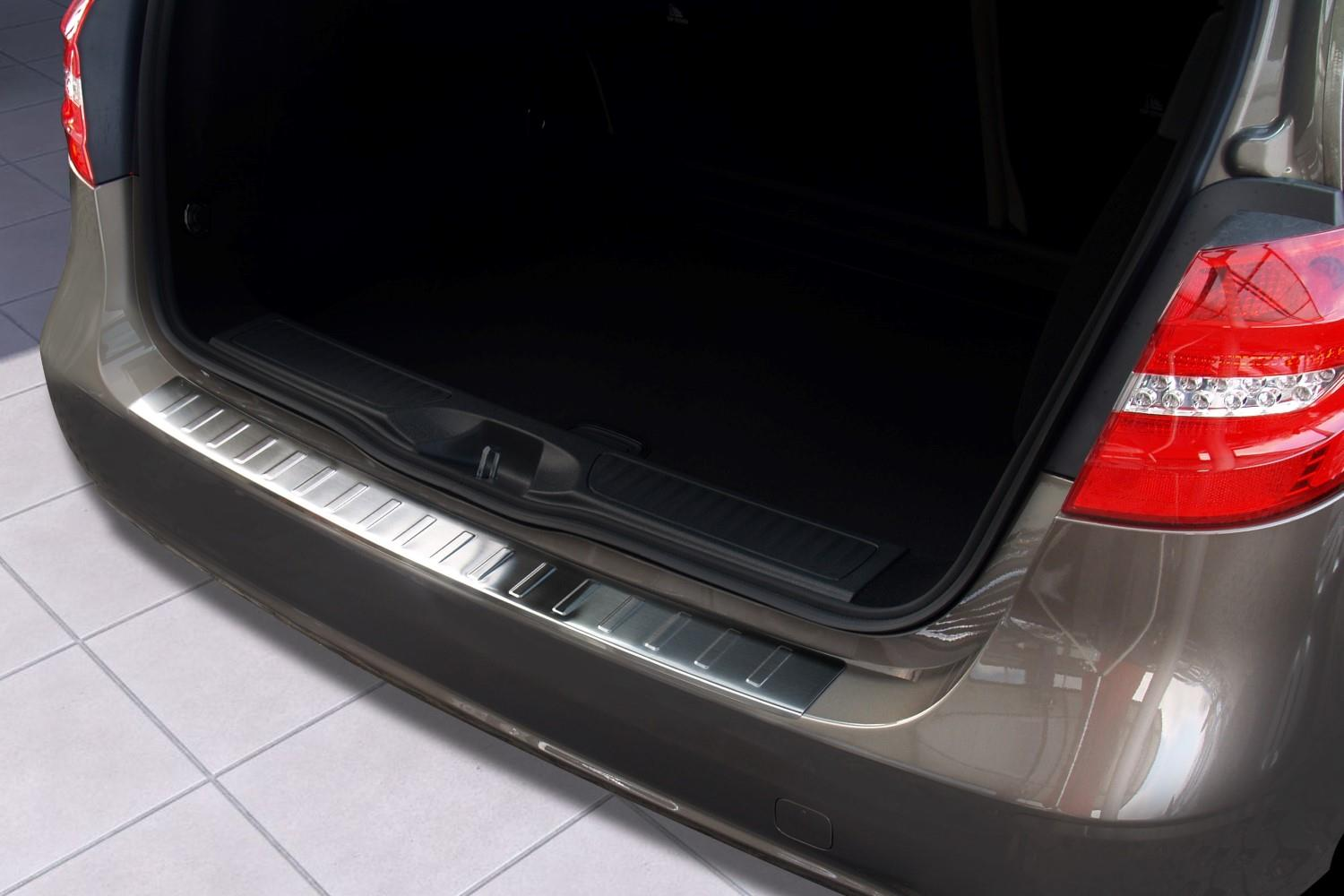 Rear bumper protector Mercedes-Benz B-Class (W246) 2011-present 5-door hatchback stainless steel