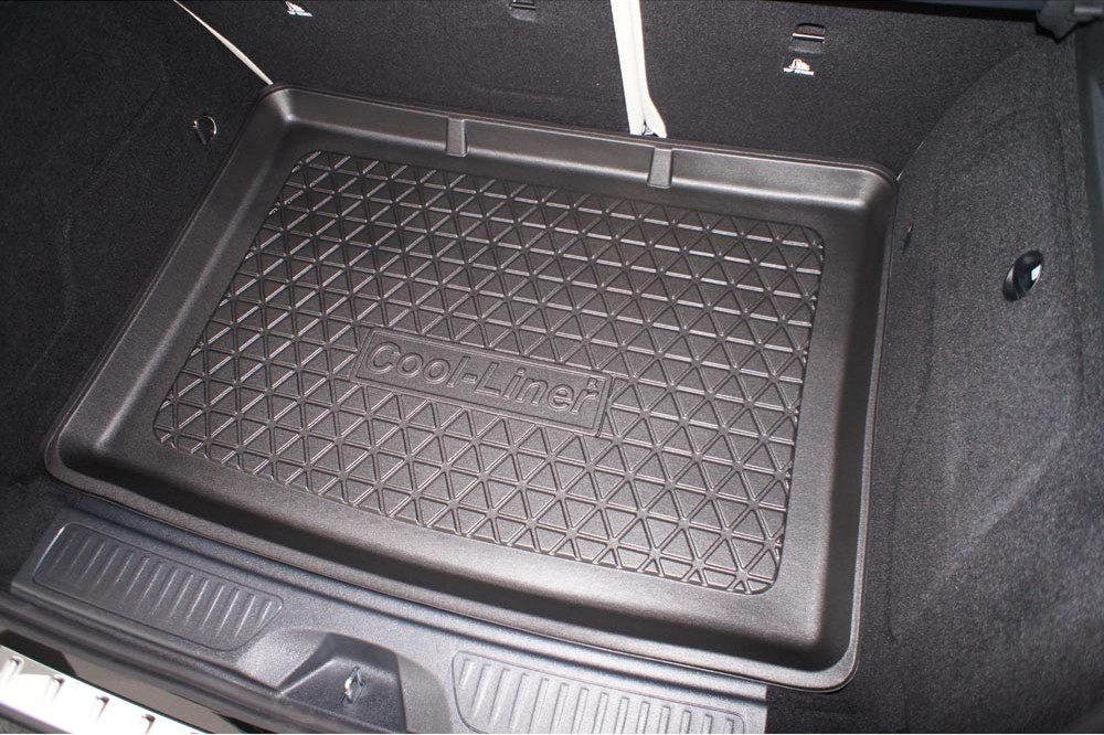 Boot mat Mercedes-Benz B-Class (W246) 2011-2018 5-door hatchback Cool Liner anti slip PE/TPE rubber