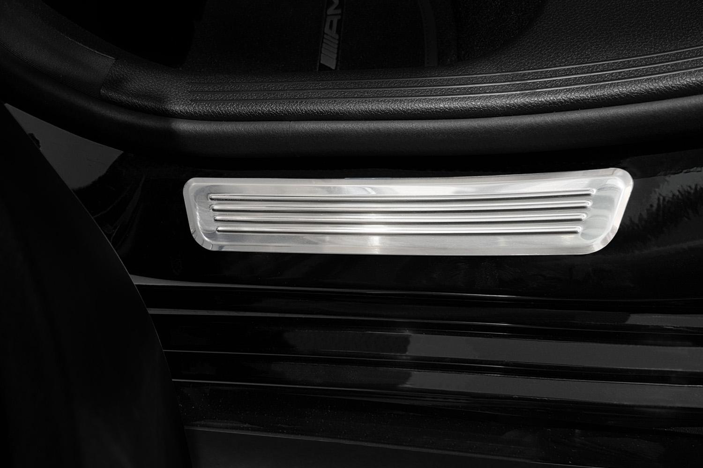 door sill plates mercedes-benz c-class (w206) stainless