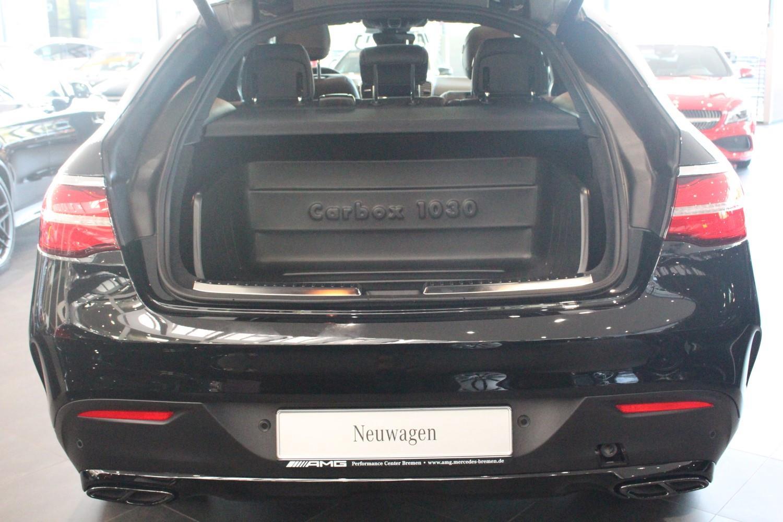 Gummi-Kofferraumwanne Kofferraummatte für Mercedes GLE C292 Coupe ab 2015