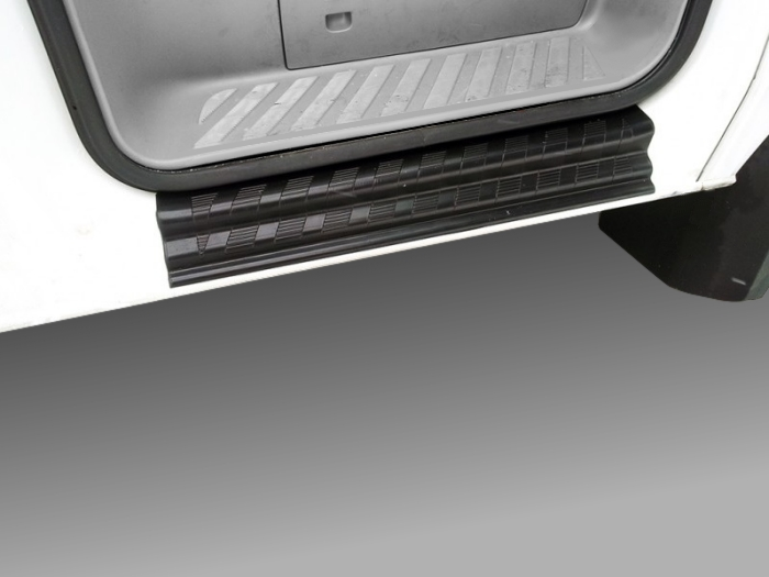 Door sill plates Mercedes-Benz Sprinter 2006-2013 PU  - 2 pieces