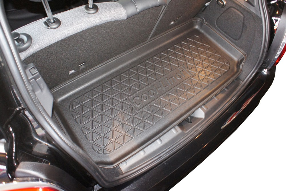 Boot mat Mini One - Cooper (F56 - Mk III) 2014-present 3-door hatchback Cool Liner anti slip PE/TPE rubber