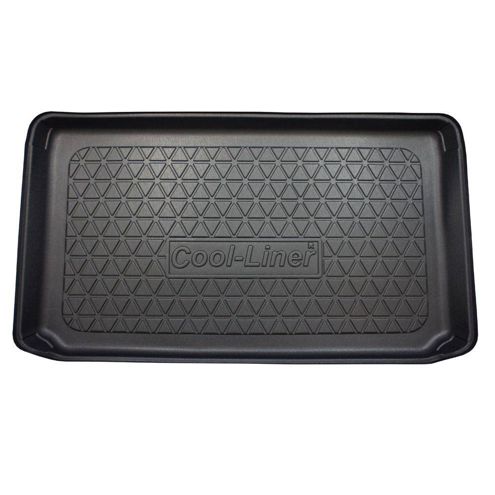 Boot mat Mini One - Cooper (F55 - Mk III) 2014-present 5-door hatchback Cool Liner anti slip PE/TPE rubber